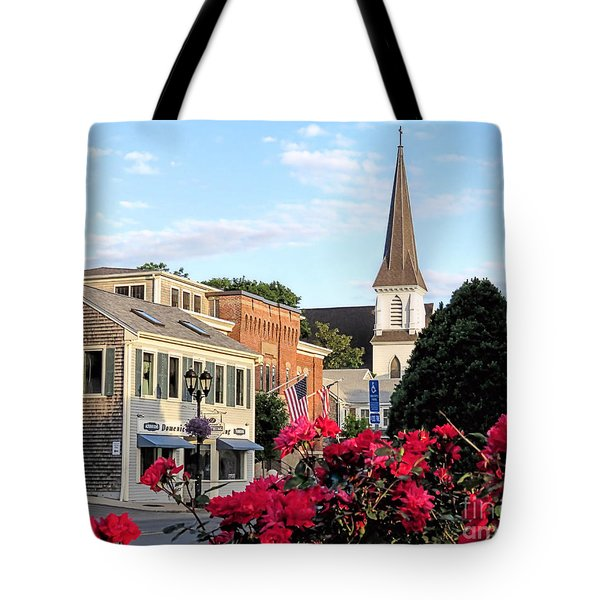 June Roses Downtown Tote Bag