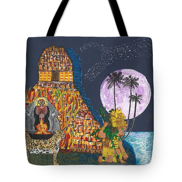 June  Shaman And Priestess  Tote Bag