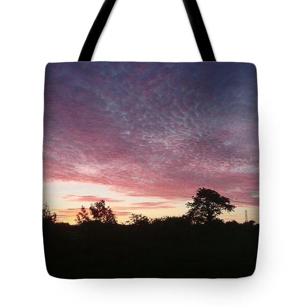 June Sunrise Tote Bag