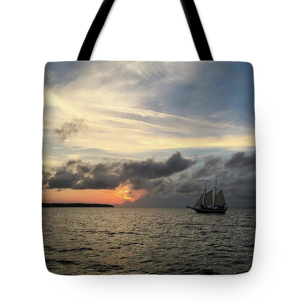 June Sunset Tote Bag by Gregg Southard