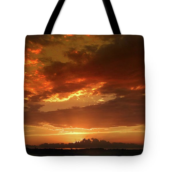 June Sunset Tote Bag by Rod Seel