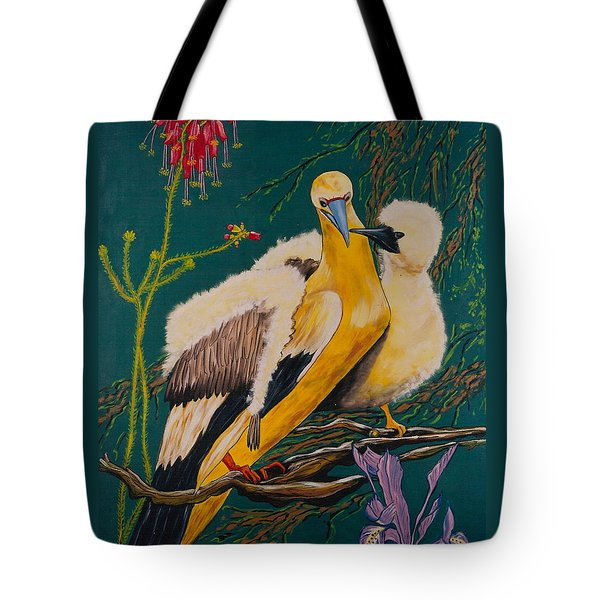 Jungle Baby Tote Bag by V Boge