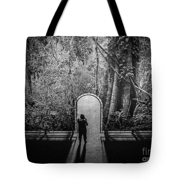 Tote Bag featuring the photograph Jungle Entrance by Hans Janssen