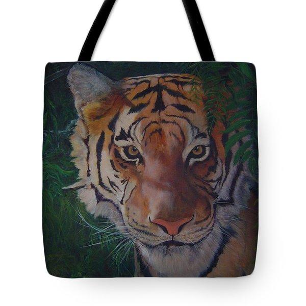 Jungle Eyes Tote Bag