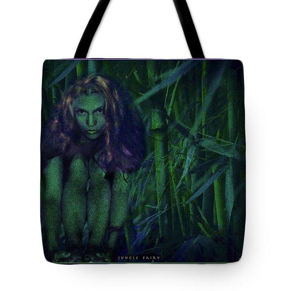Jungle Fairy Tote Bag