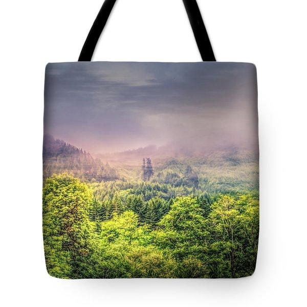 Jungle Fog Tote Bag