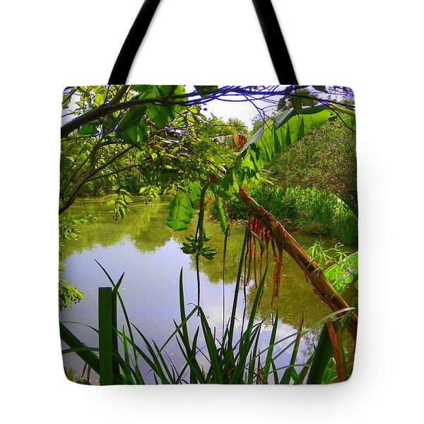 Jungle Garden View Tote Bag