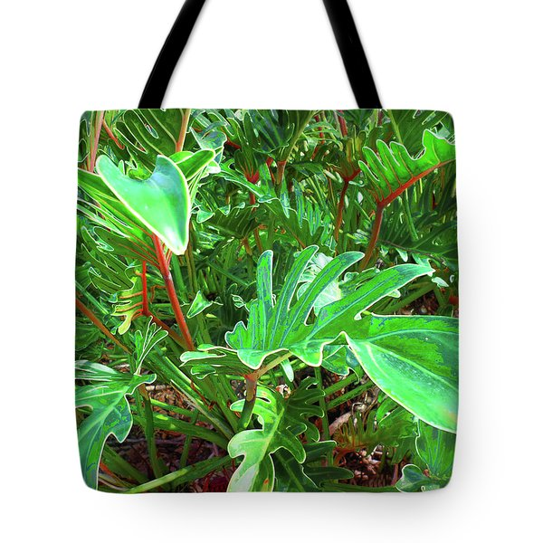 Jungle Greenery Tote Bag