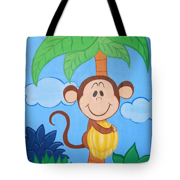 Jungle Monkey Tote Bag