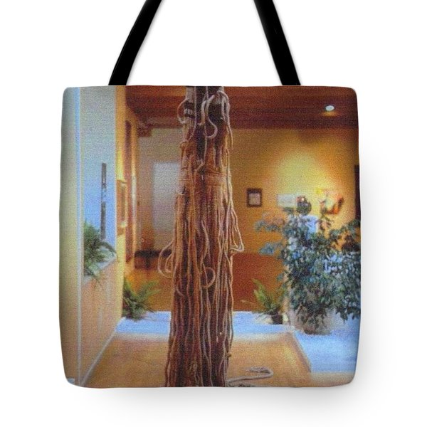 Jungle Spirit Tote Bag by Bernard Goodman