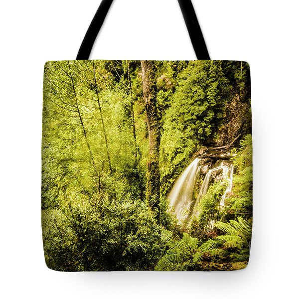 Jungle Steams Tote Bag