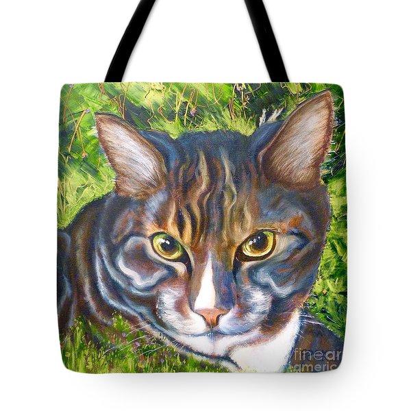Jungle Tabby Tote Bag