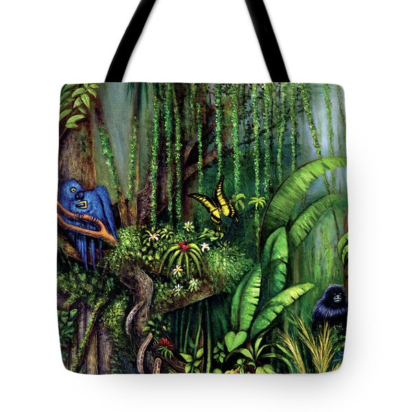 Jungle Talk Tote Bag