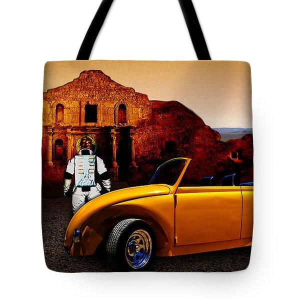 Juni Do You Remember The Alamo? Tote Bag