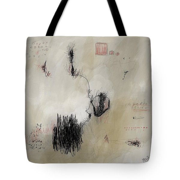 Tote Bag featuring the digital art Junior by Rick Baldwin