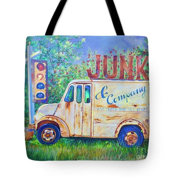 Junk Truck Tote Bag