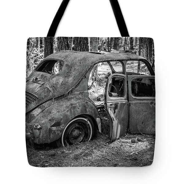 Junked Cars Tote Bag