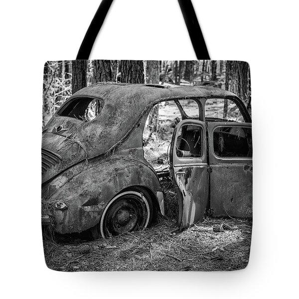 Junked Cars Tote Bag