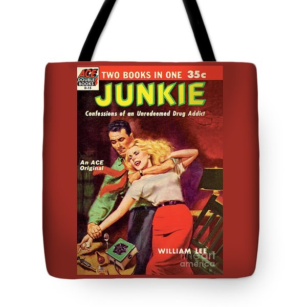 Tote Bag featuring the painting Junkie by Al Rossi