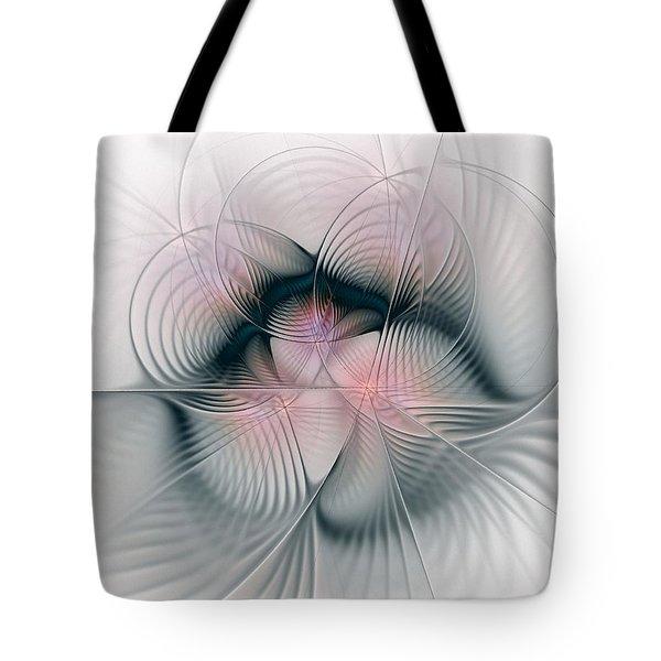 Junos Mercy - Fractal Art Tote Bag by NirvanaBlues