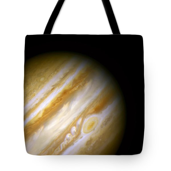 Jupiter And The Great Red Spot Tote Bag by Jennifer Rondinelli Reilly - Fine Art Photography