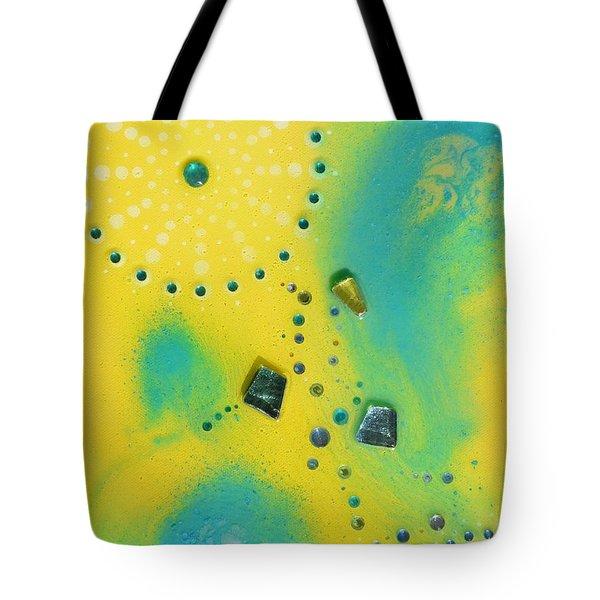 Jupiter Blue Tote Bag