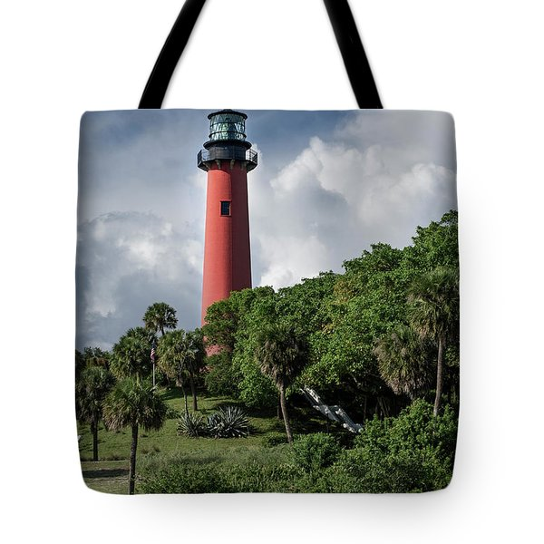 Jupiter Inlet Lighthouse Tote Bag