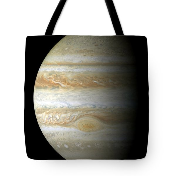 Jupiter Mosiac Tote Bag by Stocktrek Images