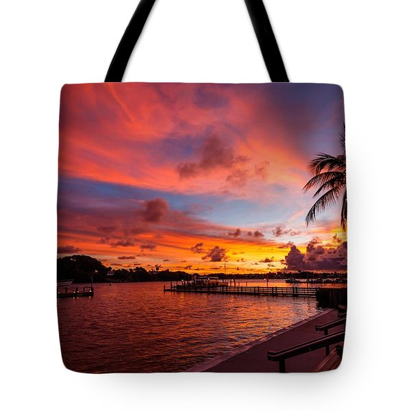 Jupiter Sunrise Tote Bag