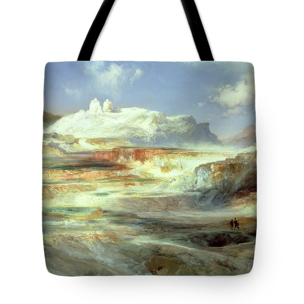 Jupiter Terrace Tote Bag by Thomas Moran