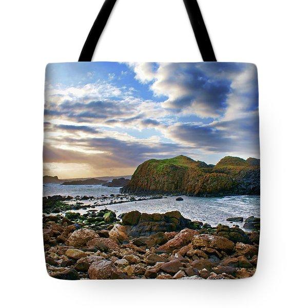 Jurassic Coastline Tote Bag
