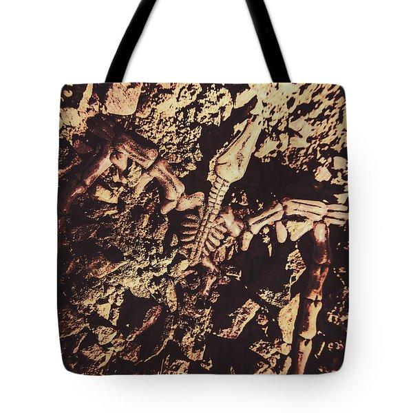 Jurassic Grave Tote Bag