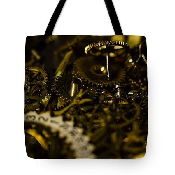 Just A Cog In The Machine 2 Tote Bag