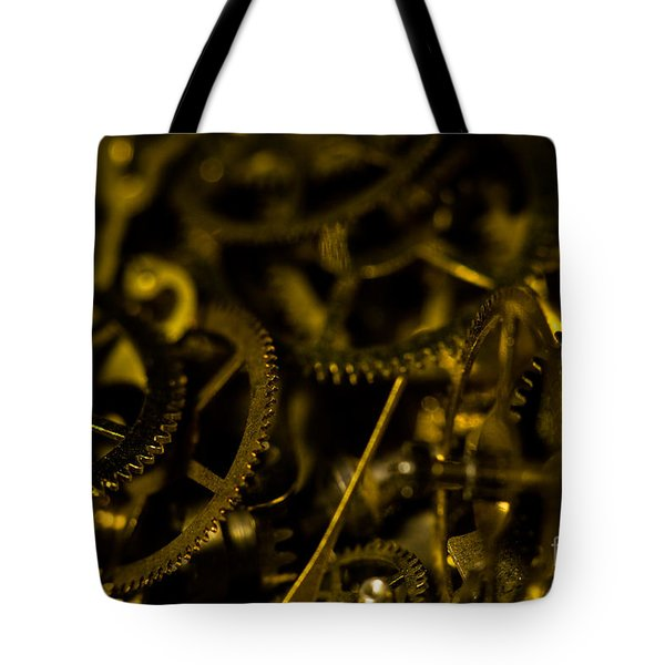 Just A Cog In The Machine 3 Tote Bag
