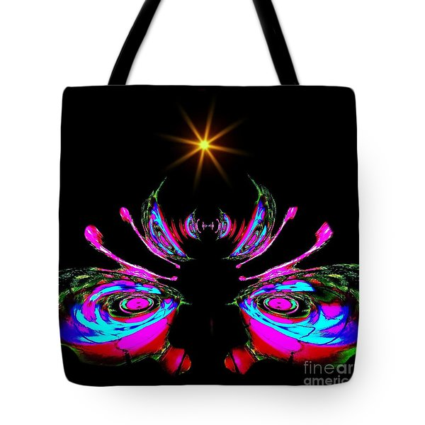 Just A Little Bit Abstract Tote Bag by Blair Stuart