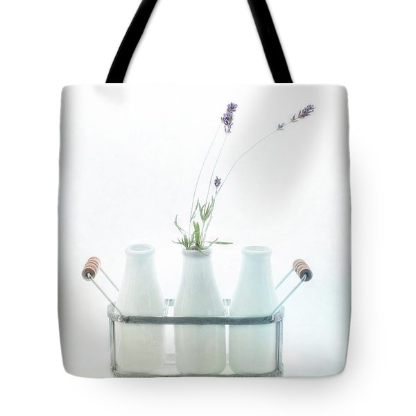 Tote Bag featuring the photograph Just A Little Lavender by Rebecca Cozart