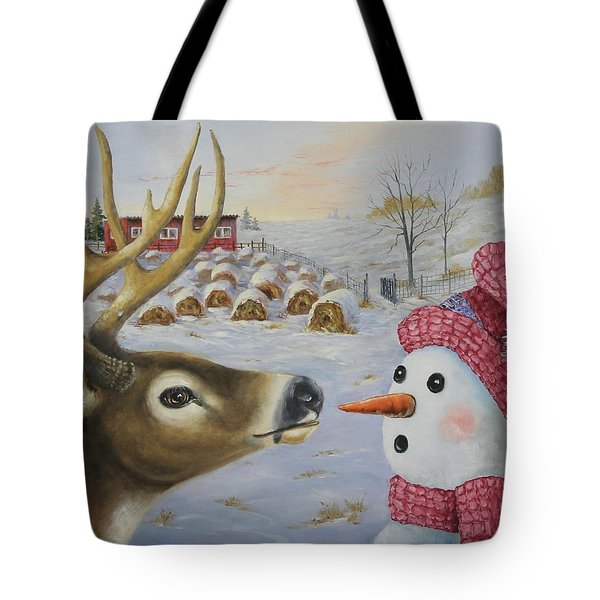 Just A Nibble Tote Bag
