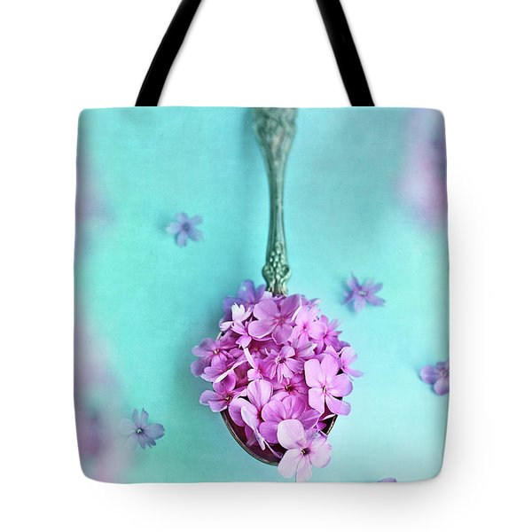 Just A Spoonful Of Petals  Tote Bag