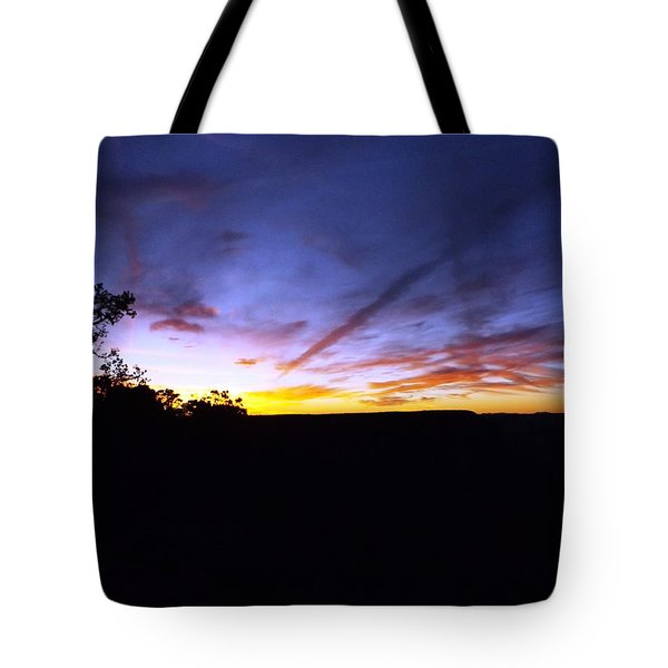 Just A Touch More Blue Tote Bag by Adam Cornelison