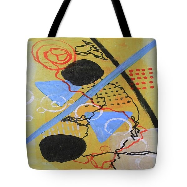 Just Above The Line Tote Bag
