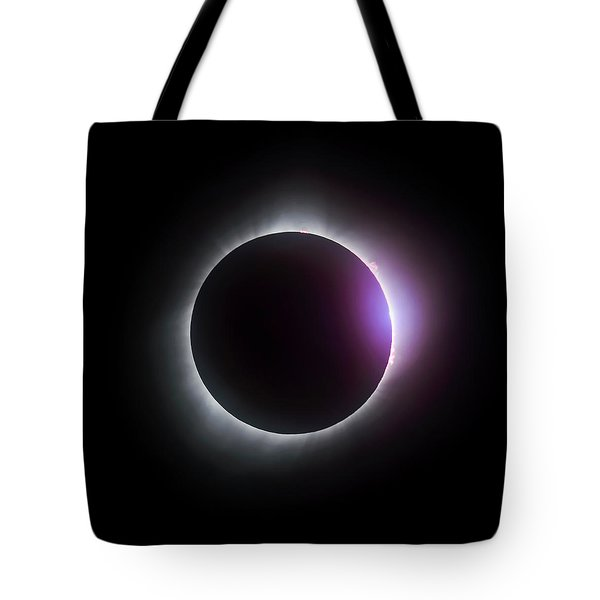 Just After Totality - Solar Eclipse August 21, 2017 Tote Bag
