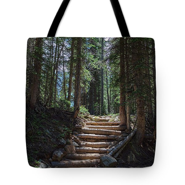 Tote Bag featuring the photograph Just Another Stairway To Heaven by James BO Insogna