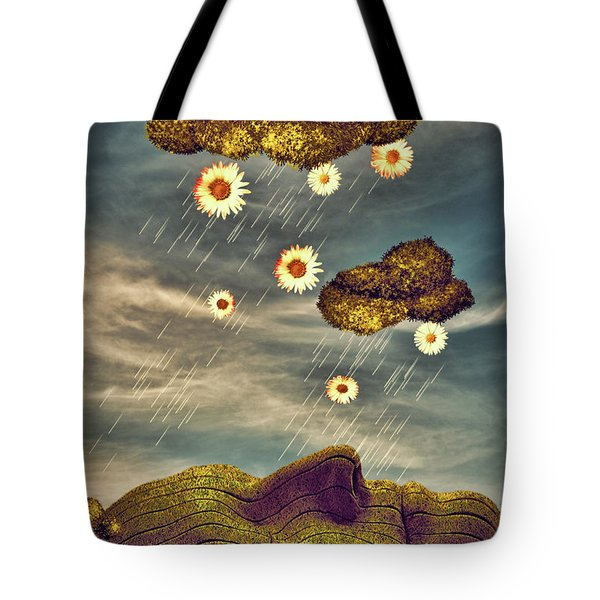 Just Another Summer Rainy Day Tote Bag