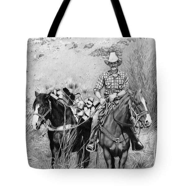 Just Another Western Workday Tote Bag