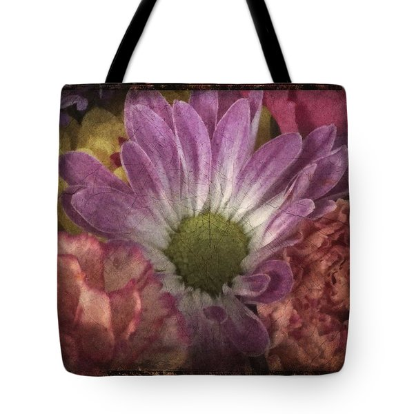 Just Because Bouquet Tote Bag