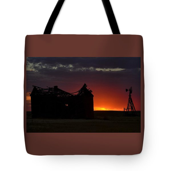 Just Before Sunrise Tote Bag by Clarice  Lakota