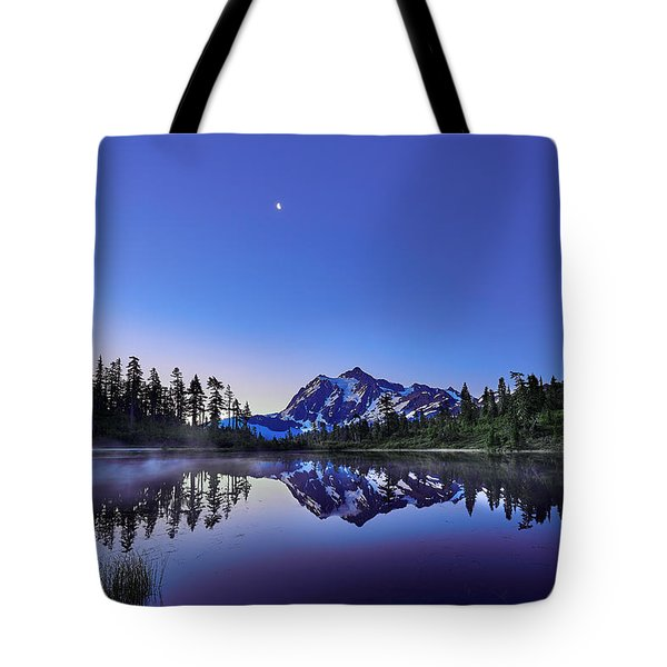 Tote Bag featuring the photograph Just Before The Day by Jon Glaser
