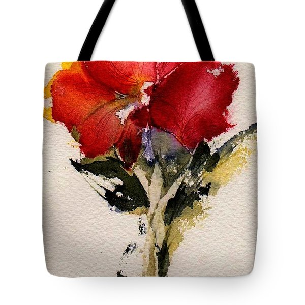 Just Bloomed Tote Bag by Anne Duke