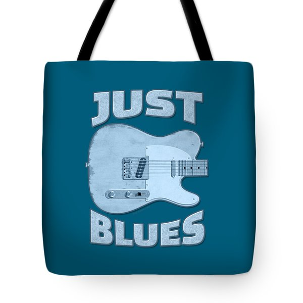 Just Blues Shirt Tote Bag