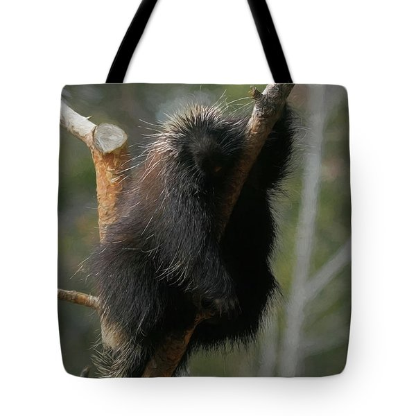Tote Bag featuring the digital art Just Chillin by Ernie Echols